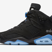 """Black/University Blue"" Air Jordan 6 Release Details Revealed"