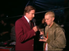 Ron Burgundy Presents Eminem With Global Icon Award