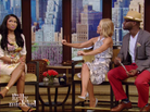 Nicki Minaj On Live! with Kelly & Michael