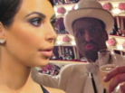 Man In Blackface Approaches Kim Kardashian Pretending To Be Kanye West