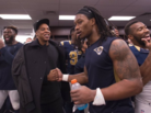 Jay Z Shows Up In St. Louis Rams' Locker Room After Big Win