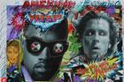 "James Franco & Other Artists ""Add Graffiti"" to ""Yeezus"" Posters"