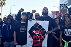 "Game, Tyga & DJ Mustard Take Part In ""Millions March Los Angeles"""