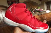 """Red Air Jordan 11s Expected To Release As Part Of Jordan's """"Holiday Collection"""""""