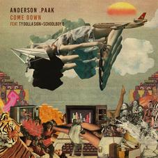 Anderson .Paak - Come Down (Remix) Feat. ScHoolboy Q & Ty Dolla $ign