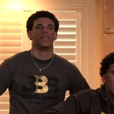 The Moment When Lonzo & The Ball Family Found Out The Lakers Got The 2nd Pick