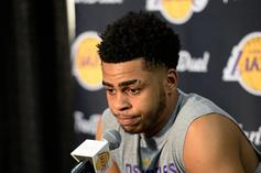 D'Angelo Russell Reportedly Booed When Introduced In Brooklyn