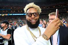Odell Beckham Jr. Stares Directly At Eclipse Without Protective Glasses