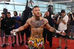 McGregor Gets Into It With Floyd And Malignaggi At Grand Arrival
