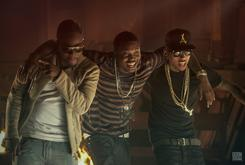 "BTS Photos: Video Shoot For Kid Ink's ""Bad Ass"" With Meek Mill & Wale"