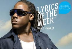 Lyrics Of The Week: March 7th-14th