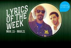 Lyrics Of The Week: March 15th-21st