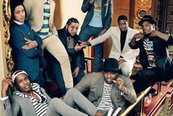 Cam'ron, A$AP Mob Pose For GQ