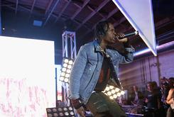 Travi$ Scott & Young Thug Bring Out Kanye West & Chris Brown In L.A.