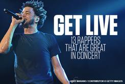Get LIVE: 13 Rappers That Are Great In Concert