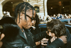 "Travi$ Scott Gives His Chain To A Young Fan With ""Rodeo"" Tattoo"