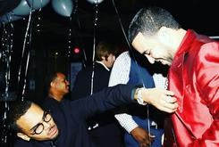 Chris Brown Painted A Portrait Of Chinx For French Montana's Birthday