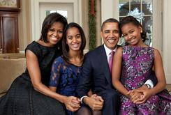 Listen To The Obamas' Holiday Playlist