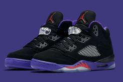 "Official Images Of The ""Raptors"" Air Jordan 5 Releasing This Week"