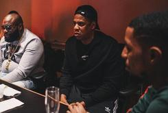 Rick Ross & Jay Z Link Up For L.A. Session