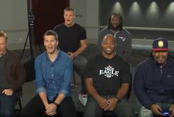 Watch Tom Brady, Rob Gronkowski Do Video Game Battle Against Marshawn Lynch