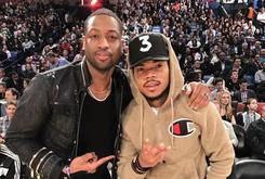 Jimmy Butler & Dwyane Wade Party With Chance The Rapper Following Warriors Upset