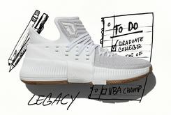 """Adidas Unveils New Dame 3 Colorway Inspired By Damian Lillard's Song """"Legacy"""""""