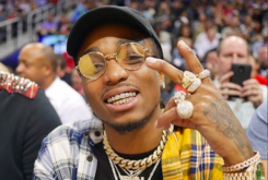 """Quavo & Karrueche Tran Are Reportedly Dating, But Not """"Exclusive"""" Yet"""