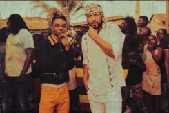 "French Montana & Swae Lee Shoot Music Video For ""Unforgettable"""
