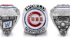 Chicago Cubs World Series Ring Includes 108 Diamonds Commemorating Title Drought