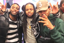 """Watch Chance The Rapper Freestyle Over Future's """"Mask Off"""" With King Louie"""