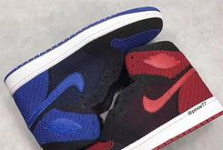 "Flyknit Air Jordan 1s Reportedly Releasing In ""Bred"" And ""Royal"" Colorways"