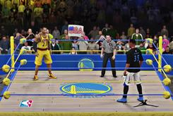 Watch What Happens When Kevin Durant Takes On LeBron James In A WWE Ring