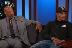 Watch Lonzo And LaVar Ball's Interview With Jimmy Kimmel
