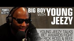 "Young Jeezy ""Talks About BET Awards Show Fight & Gucci Mane"" Video"