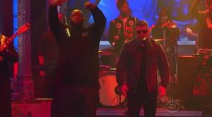 "Run The Jewels Perform ""Angel Duster"" On Late Show With Stephen Colbert"