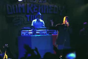 """DOM Kennedy """"This Is Dom Kennedy Tour [Vlog 1]"""" Video"""