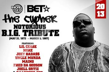 """BET & Hot 97 Present: """"The Notorious B.I.G. Tribute Cypher"""""""