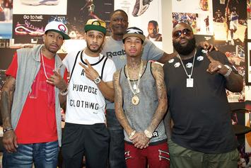 "Rick Ross, Tyga & Allen Iverson Cover XXL & SLAM's ""Kings Of The Game"" Issue"