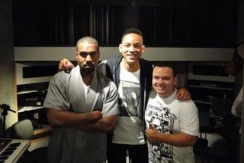 Will Smith Confirms He Did Some Work In The Studio With Kanye West