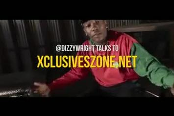 "Dizzy Wright ""Talks Golden Age, TDE, YG & Joey Bada$$"" Video"
