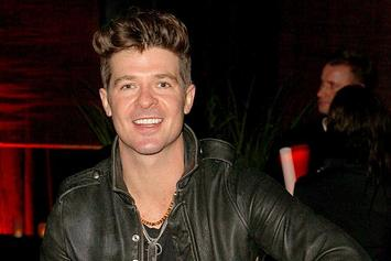 "Cover Art, Tracklist & Release Date Revealed For Robin Thicke's ""Blurred Lines"""