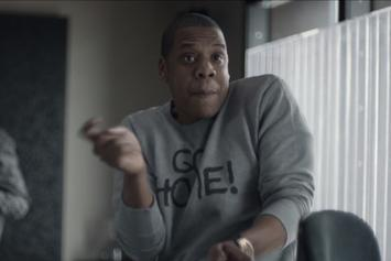 "Jay-Z ""Breaks Down ""Heaven"" (Magna Carta Promo)"" Video"