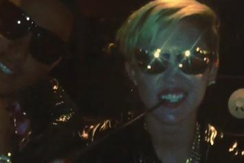 "French Montana ""Previews ""Ain't Worried Bout Nothin (Remix)"" With Miley Cyrus"" Video"