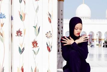 Rihanna Has Photo Shoot At Abu Dhabi Mosque, Gets Kicked Out