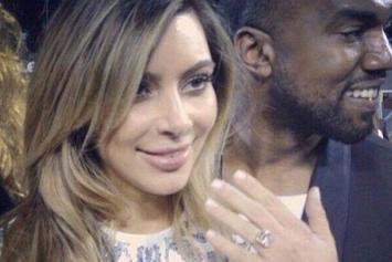 Kanye West & Kim Kardashian Are Engaged