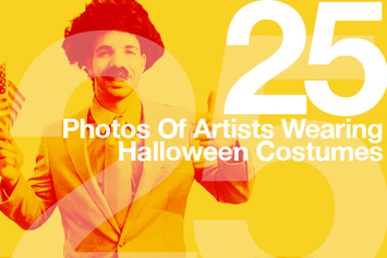 25 Photos Of Artists Wearing Halloween Costumes