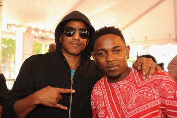 Photo: Q-Tip & Kendrick Lamar In The Studio