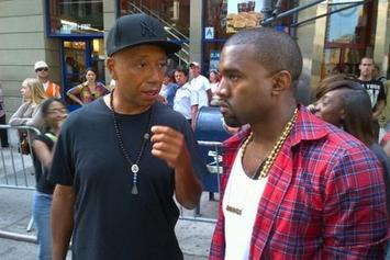 Russell Simmons Praises Kanye West, Kanye West Responds