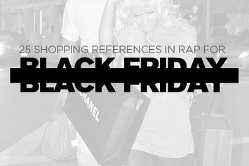 25 Shopping References In Rap For Black Friday